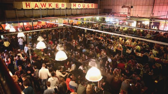 Hawker House is one of the top 5 alternative UK event venues