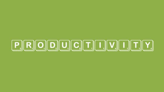 Top tips to improve productivity