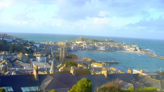 St Ives is one of the most popular spots for a British seaside staycation