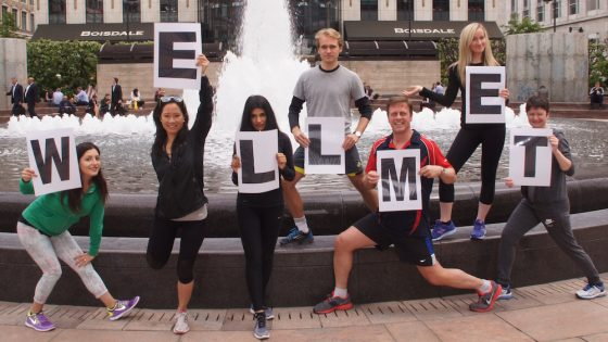 MetLife UK's team participates in the Global Corporate Challenge