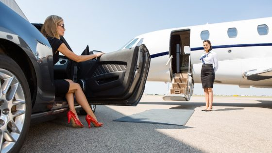 A profile of the average private jet user from PrivateFly