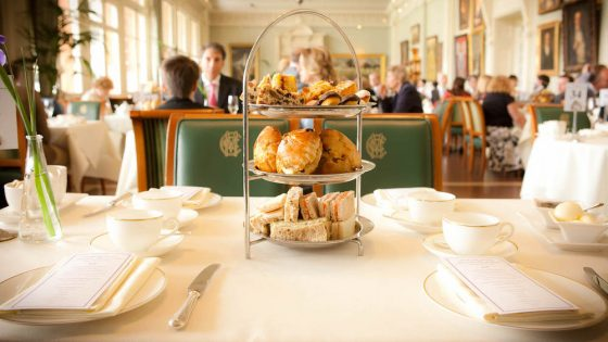 Afternoon tea at Lord's