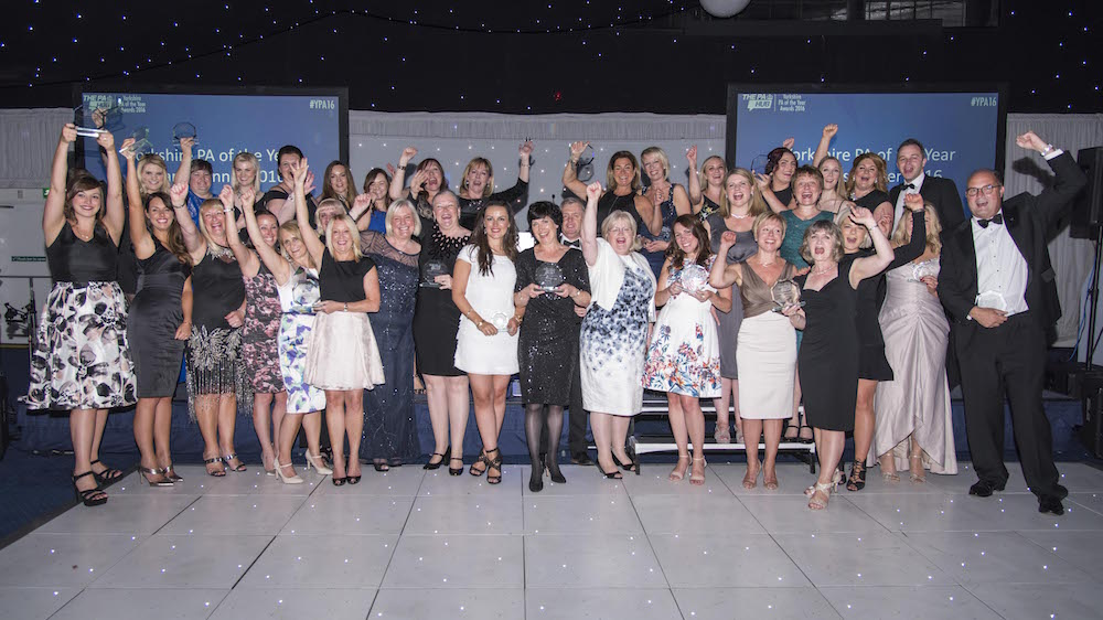 All Yorkshire PA of the Year Awards winners