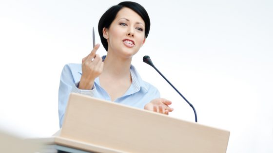 No need to fear public speaking
