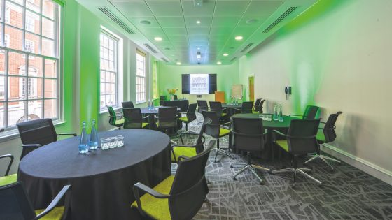 The new Worcester Room at BMA House