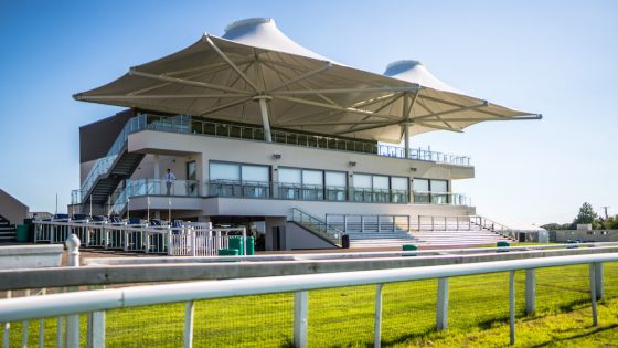 The Langridge Stand at Bath Racecourse