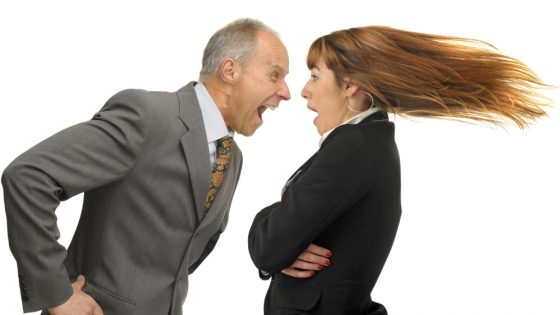 Having a psychopathic boss might turn you into a bully