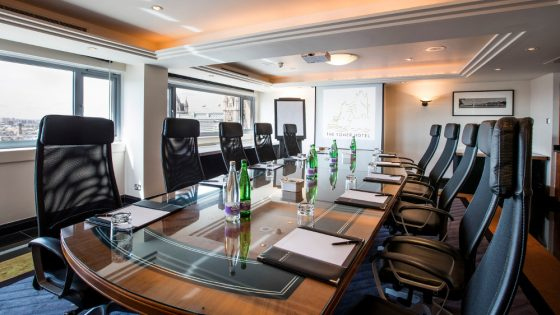 Meeting room at The Tower Hotel