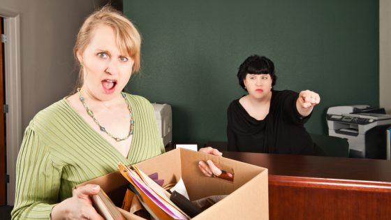 What to do after you've been fired