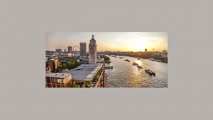 The view from Sea Containers Events