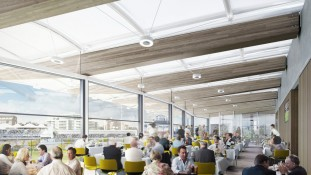 The new Warner Stand at Lord's Cricket Ground
