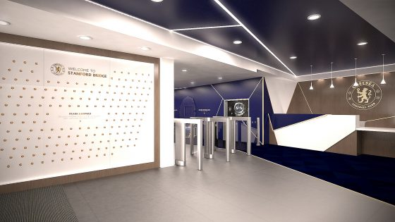 Stamford Bridge, Millennium Reception visual - Please note that these are simply artist impressions not the final refurb design (3)