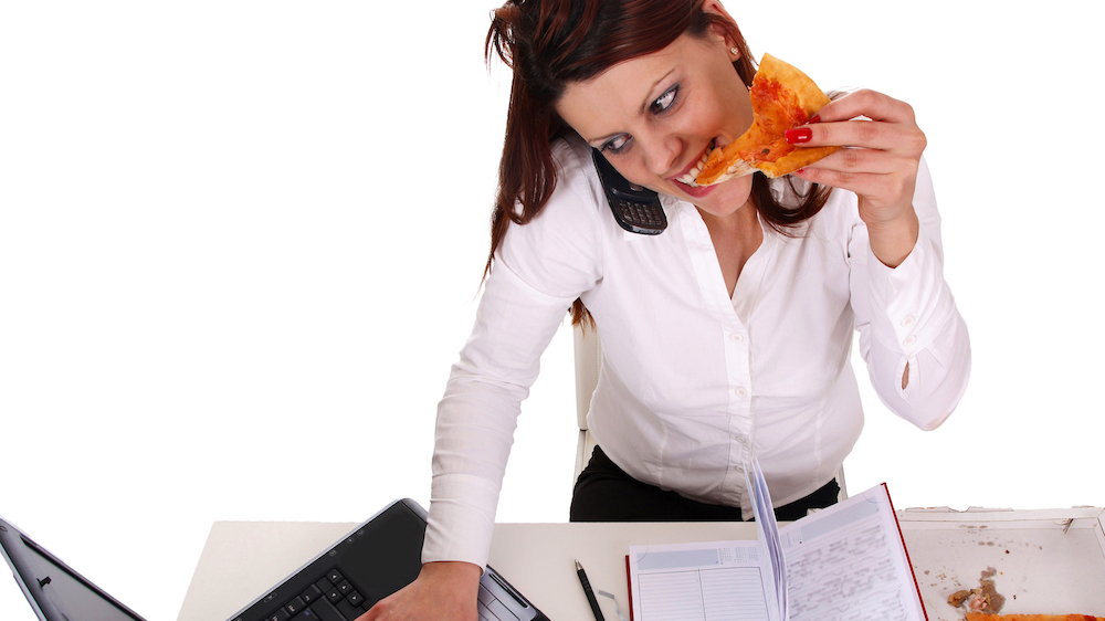 Workplace stress piles on the pounds for employees