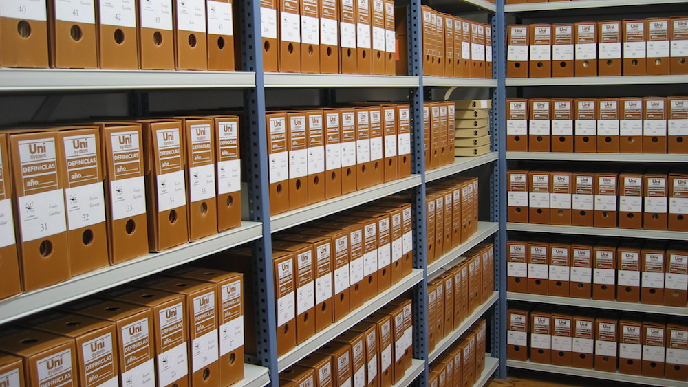 A meticulous document management system