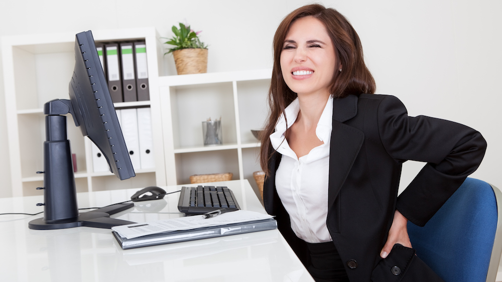 Employees believe work is the cause of their back pain