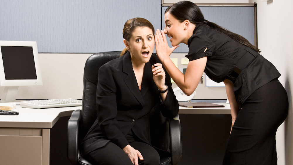 Office gossip you should never share with your boss