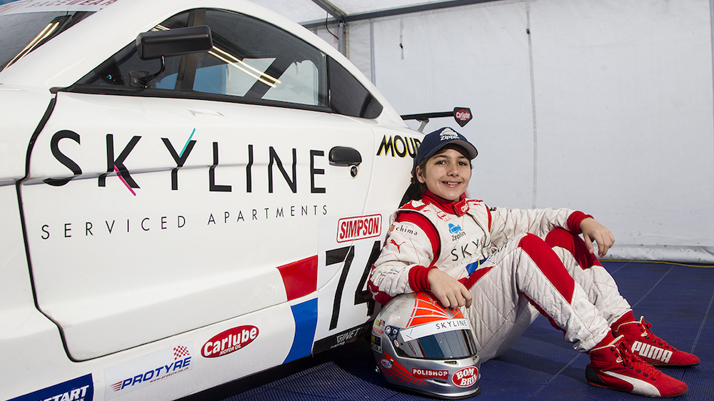 Skyline Sponsors Enzo Fittipaldi For 2016 Ginetta Junior Championship Pa Life