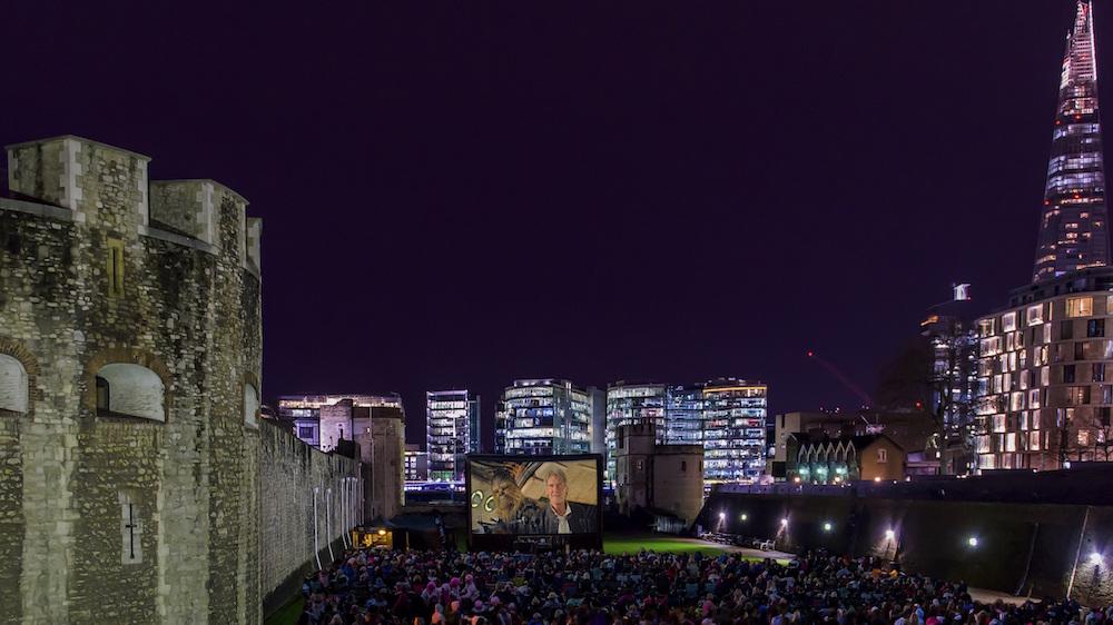 Historic Royal Palaces to screen Star Wars at the Tower of London