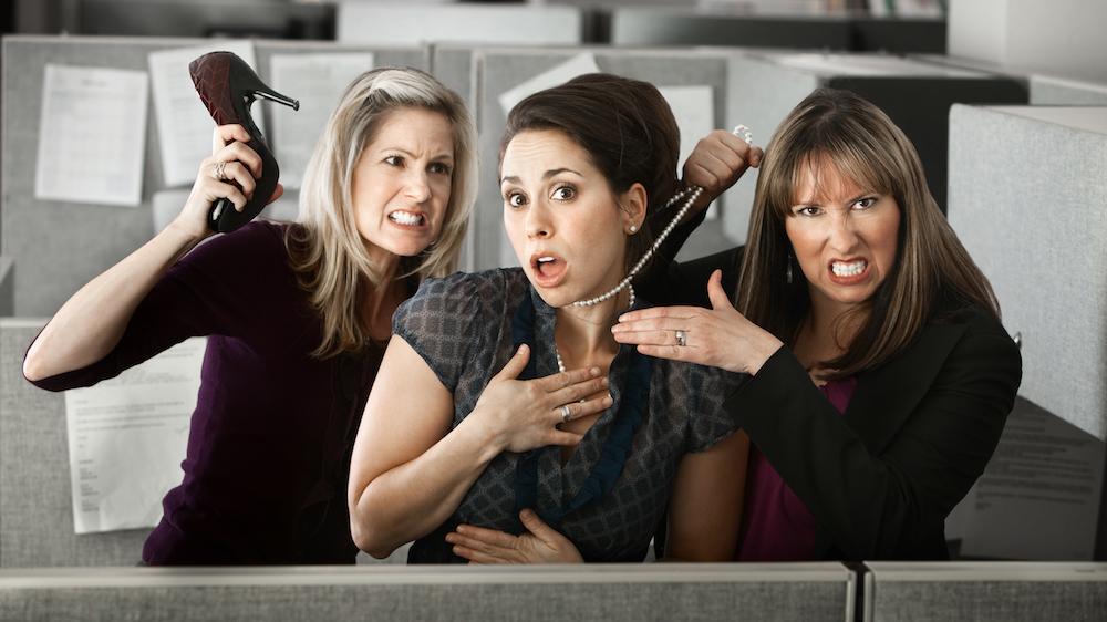Смешная картинка про друзей на работе