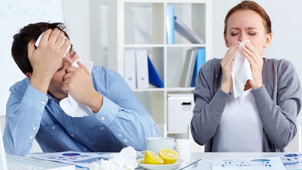 Bosses don't think flu is a good enough reason to call in sick