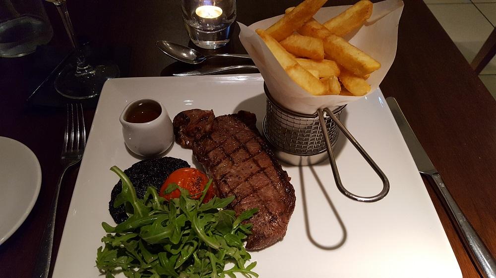 Steak at the Itchycoo Bar & Kitchen, Edinburgh