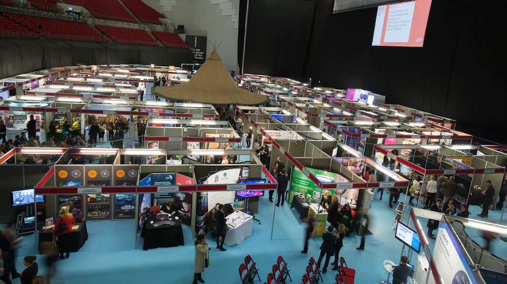 Visitors at the Conference and Hospitality Show 2016