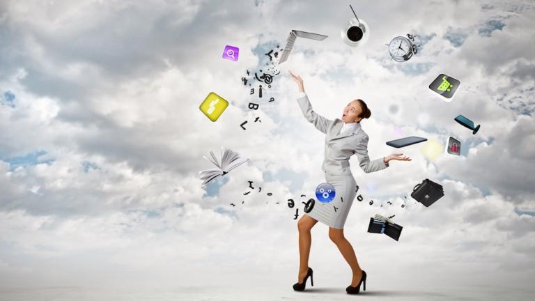 multitasking juggling instant gratification