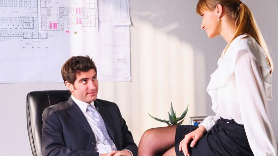 1 in 3 employees have walked in on embarrassing situations