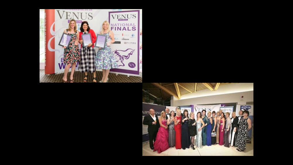 Venus Awards winners courtesy of Cerrie Simpson Photography