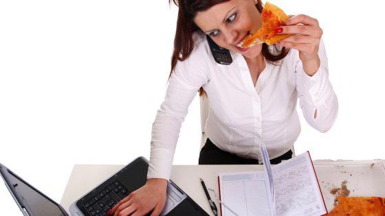 Only 1 in 5 employees take a proper lunch break