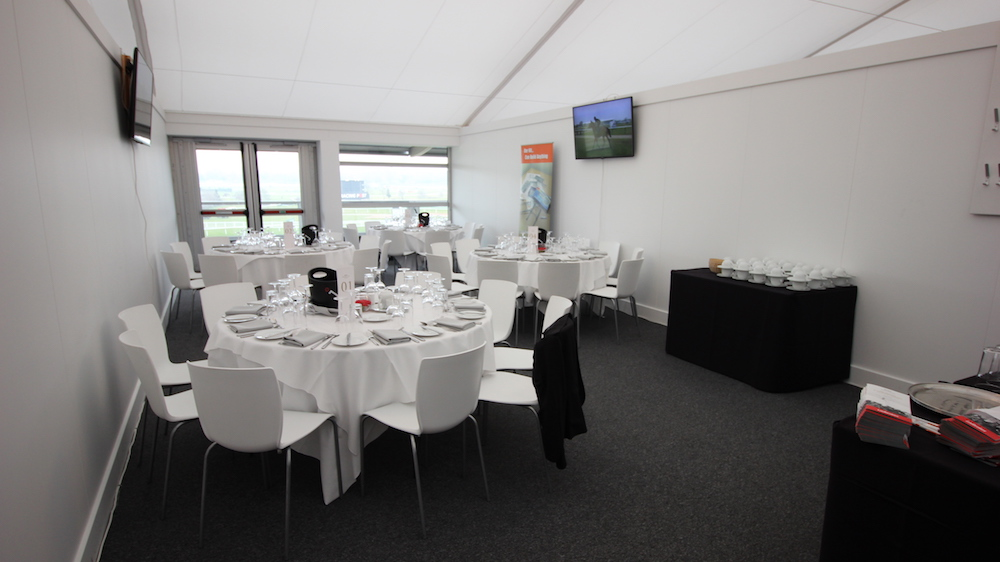 A private box at Jockey Club Cheltenham