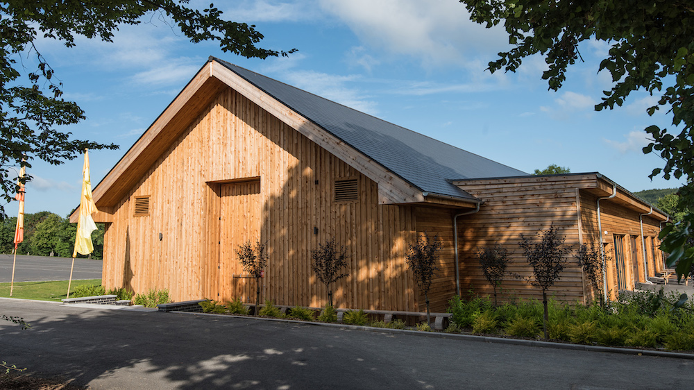The new Longhouse event space at Longleat