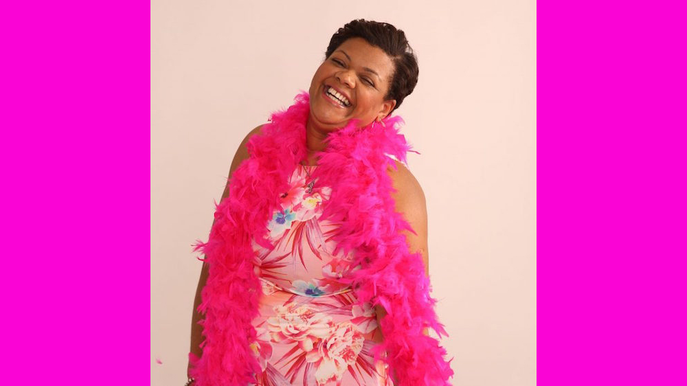 Brenda George for wear it pink