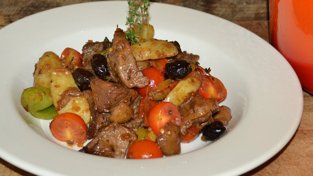 Italian beef casserole recipe from Tudor Park