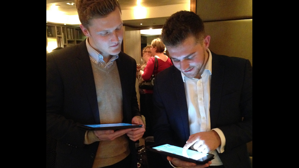 Concise team using the GuestList App at a PA Life event