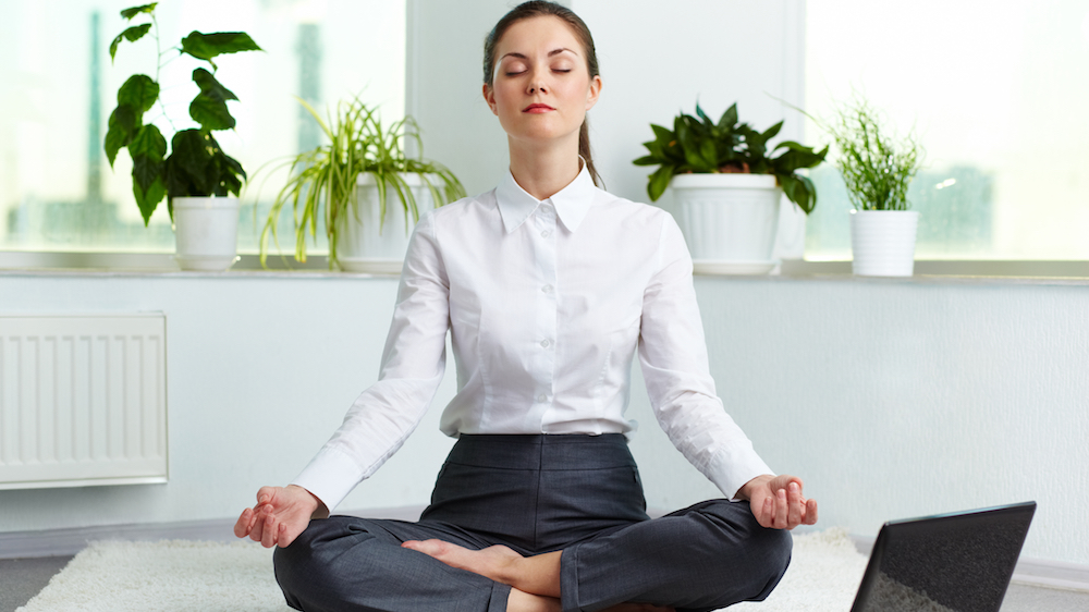 How meditation can help you deal with stress at work
