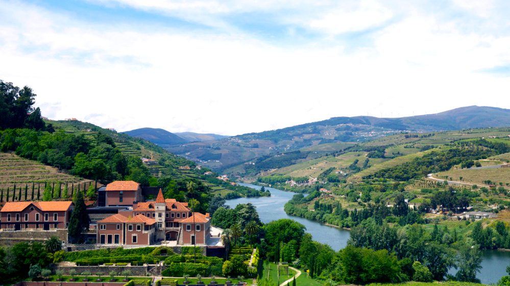 The Douro Valley in the North of Portugal