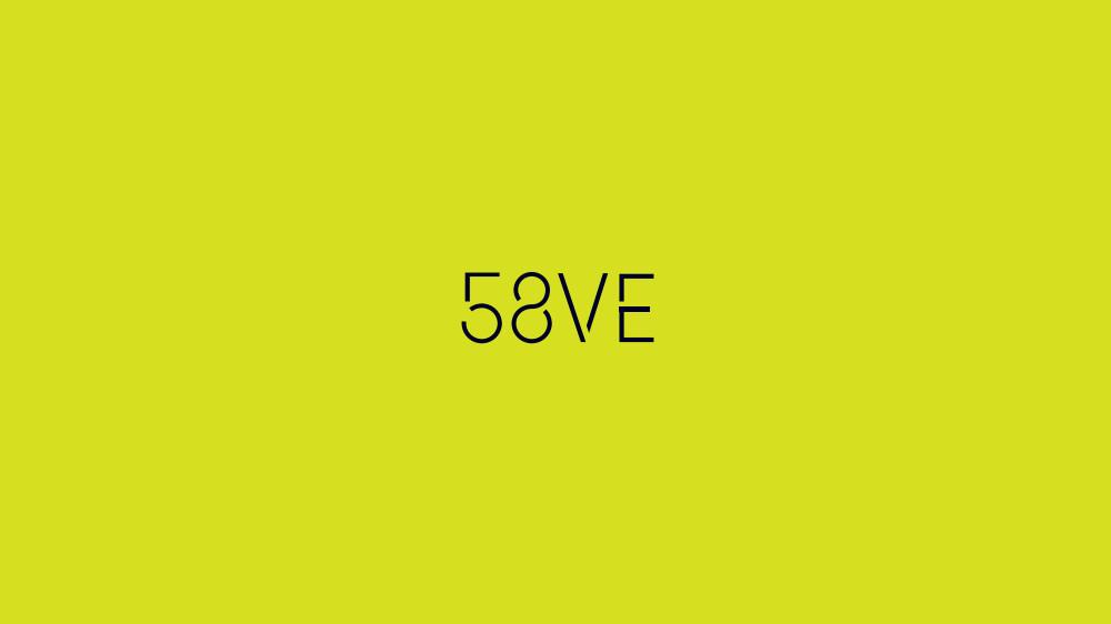58VE logo