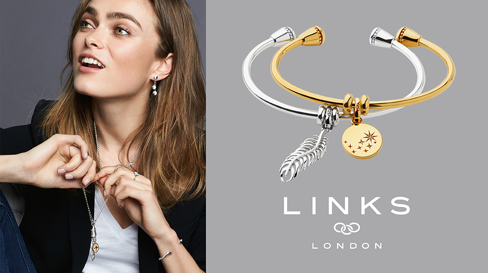 The Links of London Amulet Charm Cuff