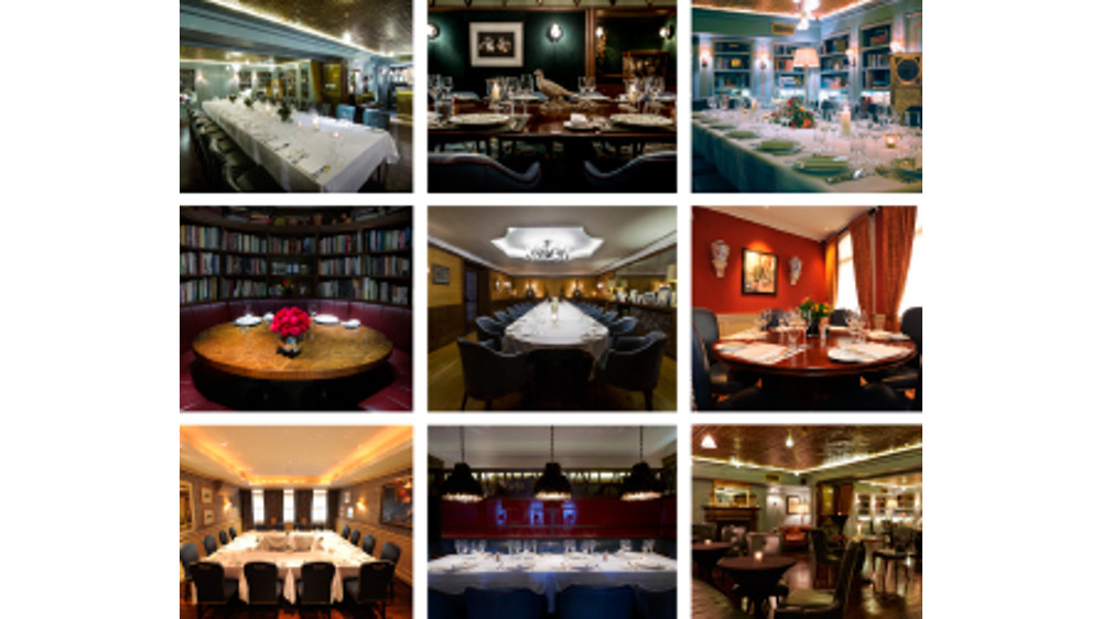 Richard Corrigan is offering private dining bookers a meal for two