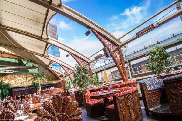 Gilgamesh Restaurant Booth