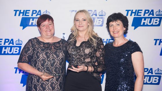 Winners at the Yorkshire PA Awards
