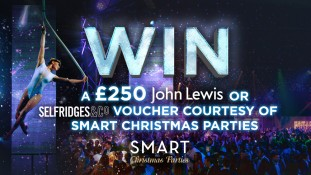 Win a shopping voucher courtesy of Smart Christmas Parties