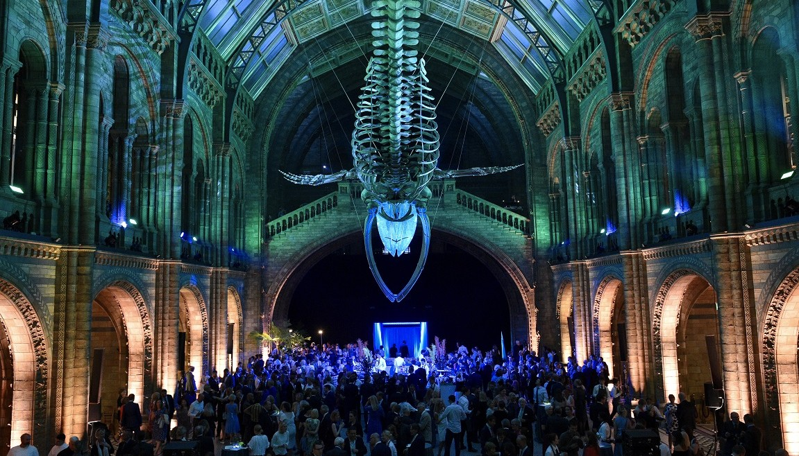 Natural History Museum official opening of the newly designed Hintze Hall.