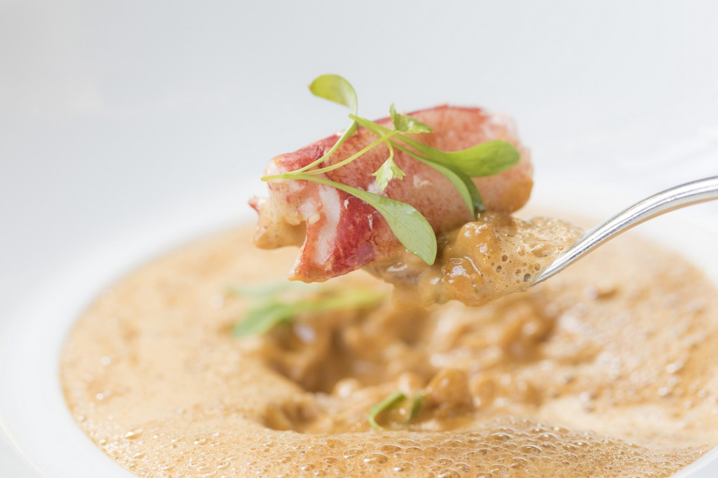 Les 110 de Taillevent- Spelt Lobster Risotto 2