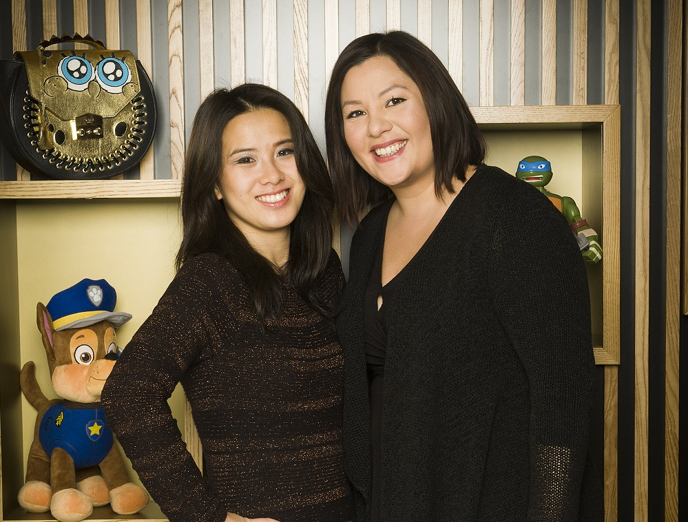 Joanna Khoo & Anna Chan, PA's at Viacom Velocity International. Shot in Camden - 18/12/2017 for PA Life Magazine