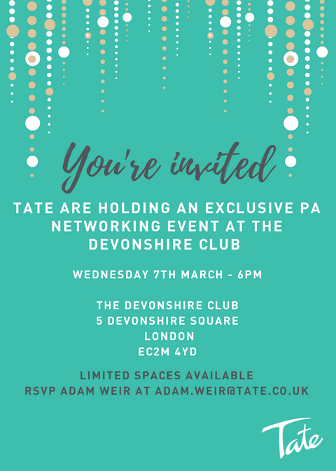 PA networking event invite PA Life