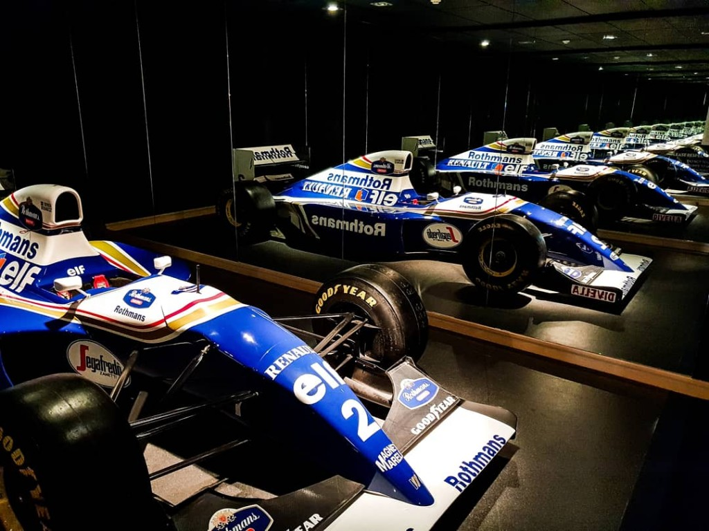 Williams F1 motor museum
