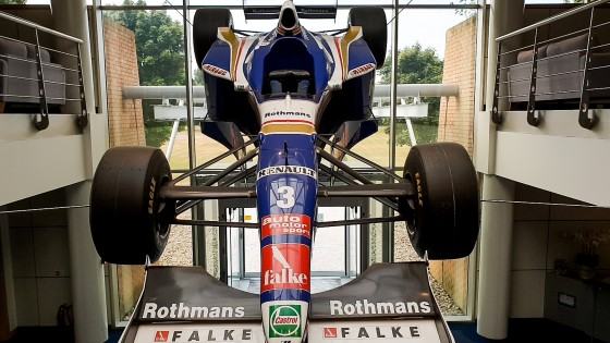 Williams Entrance Car