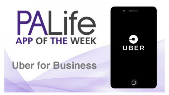 App of the Week UBER for Business